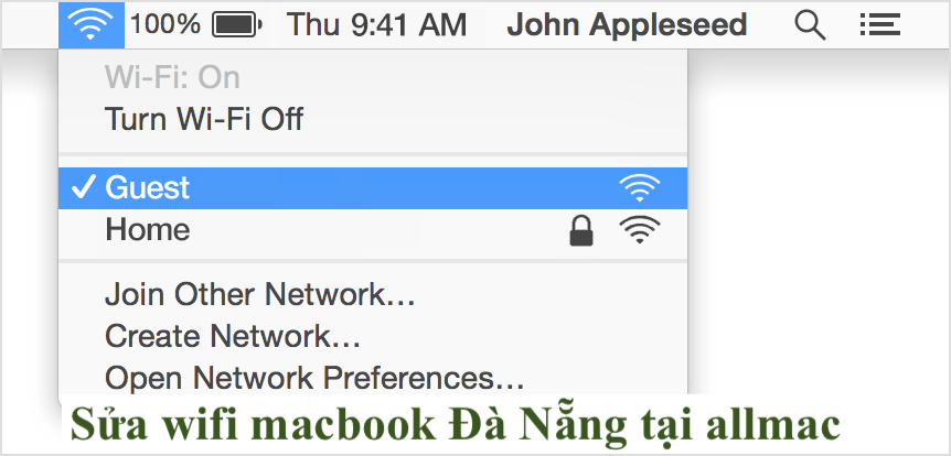 sửa wifi macbook Đà Nẵng Uy Tín