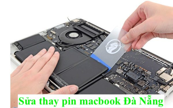 thay sua pin macbook da nang