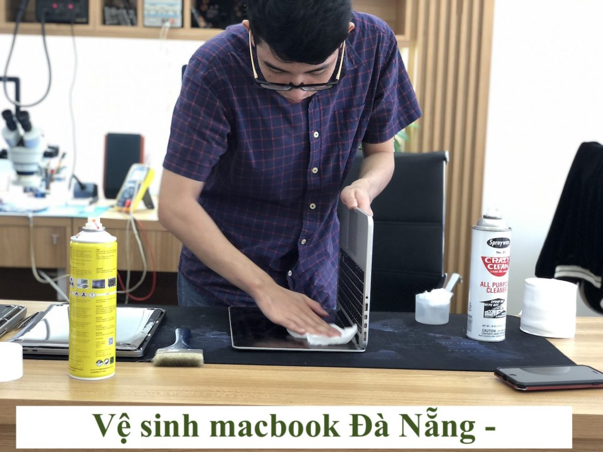 ve sinh macbook da nang allmac