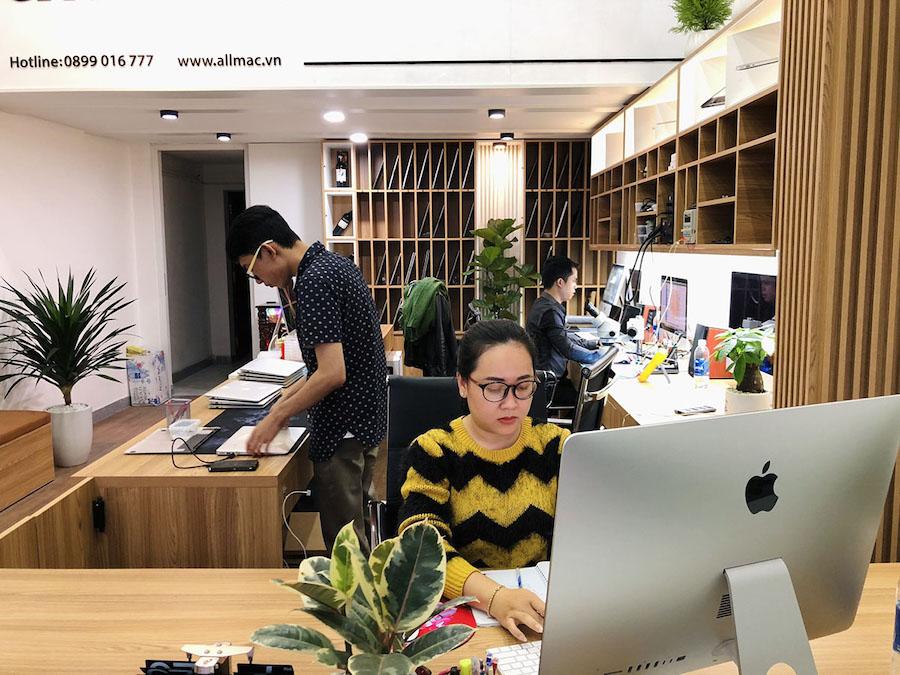 Hình ảnh cửa hàng sửa macbook của allmac